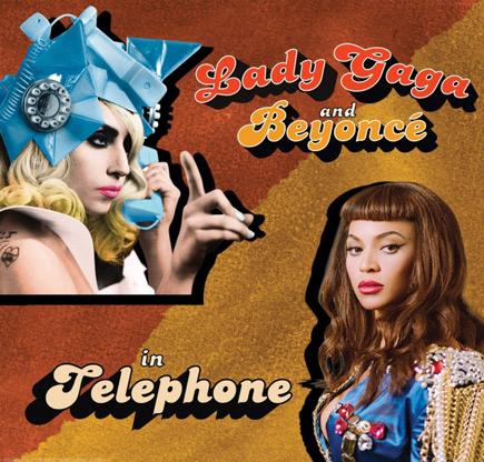 Beyoncé >> Single 'Telephone' (feat. Lady Gaga) Thatgrapejuice49
