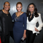 Beyoncé Beams in Blue at ObamaFundraiser